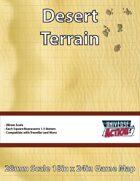Desert Terrain Map (Squares = 1.5 Meters)