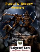 Plague & Shadow: Wererats