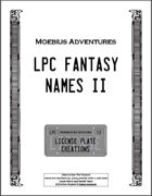 LPC Fantasy Names II