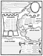 The Hero's Journey Character Sheet (First Edition)