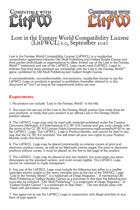 The Lost in the Fantasy World Compatibility License