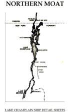 Northern Moat: Lake Champlain ship detail sheets