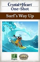 Surf's Way Up - A Crystal Heart One-shot