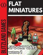 Spooky Days - Paper Miniatures - wave 1