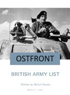 British Army List for Ostfront