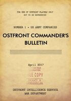 Ostfront Commander's Bulletin - US Army Companies