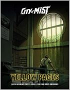 City of Mist: 'Yellow Pages' Quick Reference Sheets
