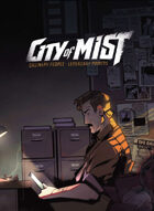 City of Mist Core Books: Player's Guide and MC Toolkit [BUNDLE]