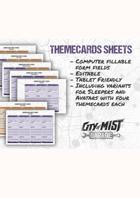 COM - Fillable PDF Character Sheet Bundle (EN)
