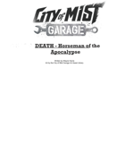 Death- Horseman of the Apocalaypse