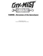 Famine - Horseman of the Apocalypse