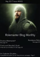 Rolemaster Fanzine Issue 0002