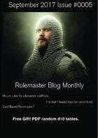 Rolemaster Fanzine Issue 0005