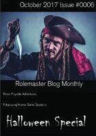 Rolemaster Fanzine Issue 0006