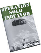 Operation Solo Endeavor [OSE]
