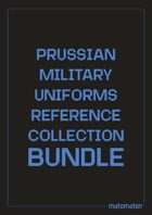 Prussia Military Uniforms Reference Collection [BUNDLE]