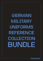 German Military Uniforms Reference Collection [BUNDLE]
