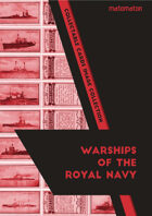 The Warships Of The Royal Navy (WW1&2) Collectable Cards Image Collection