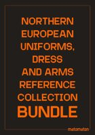 Northern Europe Uniforms, Dress & Arms Reference Collections [BUNDLE]