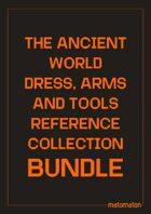 The Ancient World Dress, Arms & Tools Reference Collection [BUNDLE]