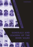 Generals & Leaders Of The Boer Wars Collectable Cards Image Collection
