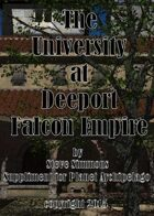 The University at Deeport a Planet Archipelago suppliment