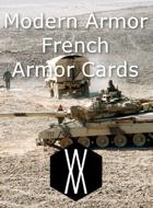 Modern Armor - French Armor Cards