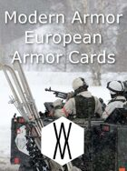 Modern Armor - European Armor Cards