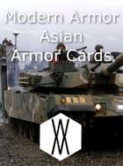 Modern Armor - Asian Armor Cards