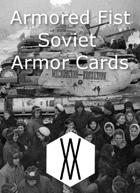 Armored Fist - Armor Cards, Soviet Union