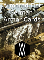 Armored Fist - Armor Cards, Germany