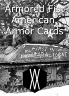 Armored Fist - Armor Cards, America