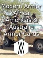 Modern Armor - Africa, the Americas, and Australia Armor Cards