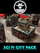 Sci Fi City Pack 1