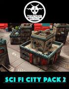 Sci Fi City Pack 2