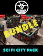 Sci Fi City Pack Deal [BUNDLE]