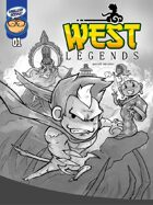 West Legends #1 pencil art