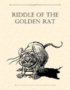 Adventure Framework 29: Riddle of the Golden Rat