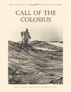 Adventure Framework 40: Call of the Colossus