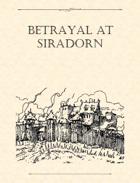 Adventure Framework 27: Betrayal at Siradorn