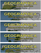 GEOGRAPHICA Continent Maps Volume 1 [BUNDLE]