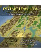 PRINCIPALITA: Kingdom Maps Volume 2-D