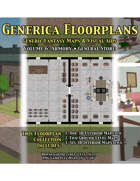 GENERICA Floorplans - Volume 6: Armory • General Store