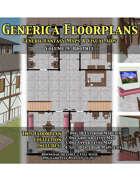 GENERICA Floorplans - Volume 9: Brothel