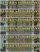 GENERICA Floorplans Halls & Walls [BUNDLE]