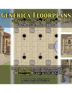 GENERICA Floorplans - Volume 15: Temple • Shrine