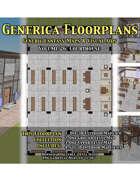 GENERICA Floorplans - Volume 26: Courthouse