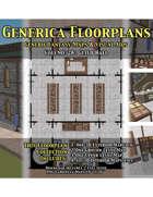 GENERICA Floorplans - Volume 28: Guild Hall