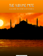 The Sublime Porte: A Guide to 1930s Istanbul for FATE