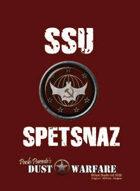 Dust Warfare Cards: SSU - Spetsnaz 1947